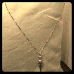 Lucky brand never worn long pendant ! 60cm